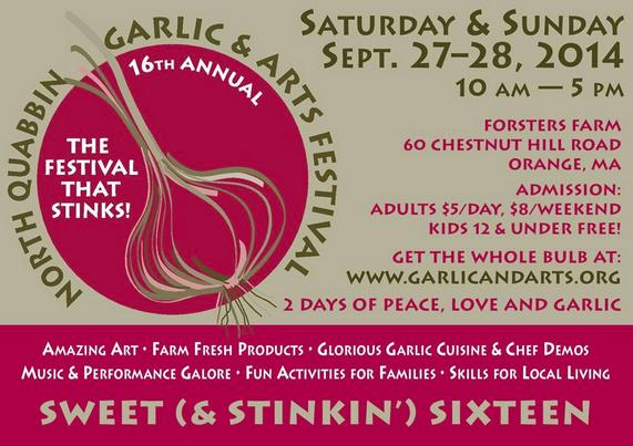 North Quabbin Garlic & Arts Festival