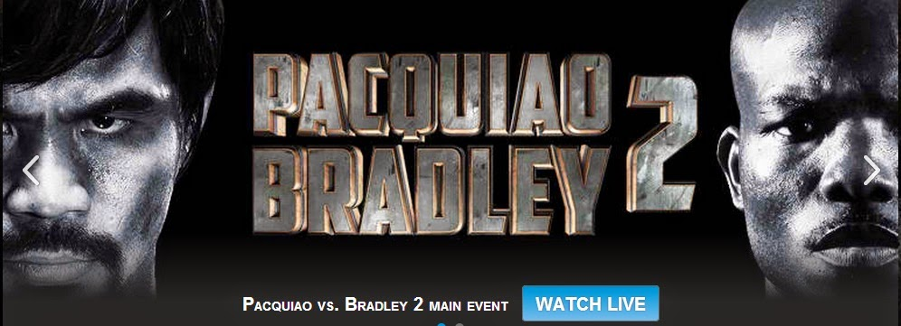Pacquiao Bradley 2 fight 2014
