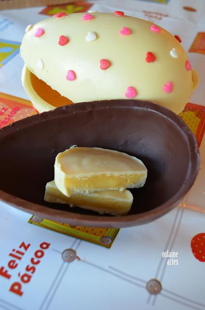 Ovos de Páscoa com Recheio de Maracujá