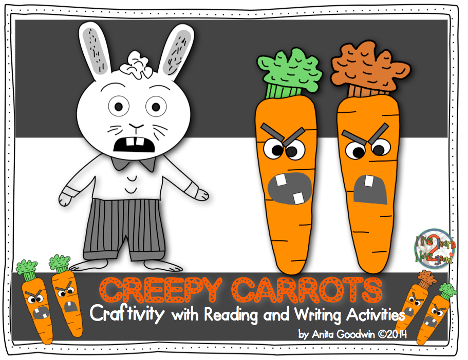 http://www.teacherspayteachers.com/Product/Creepy-Carrots-Craftivity-with-Reading-and-Writing-Activities-1519264