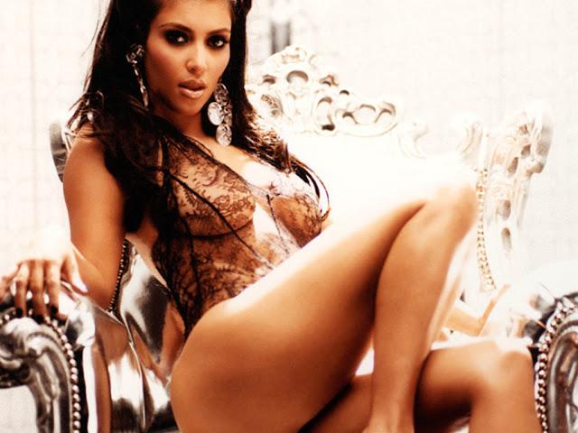 Horny Kim Kardashian
