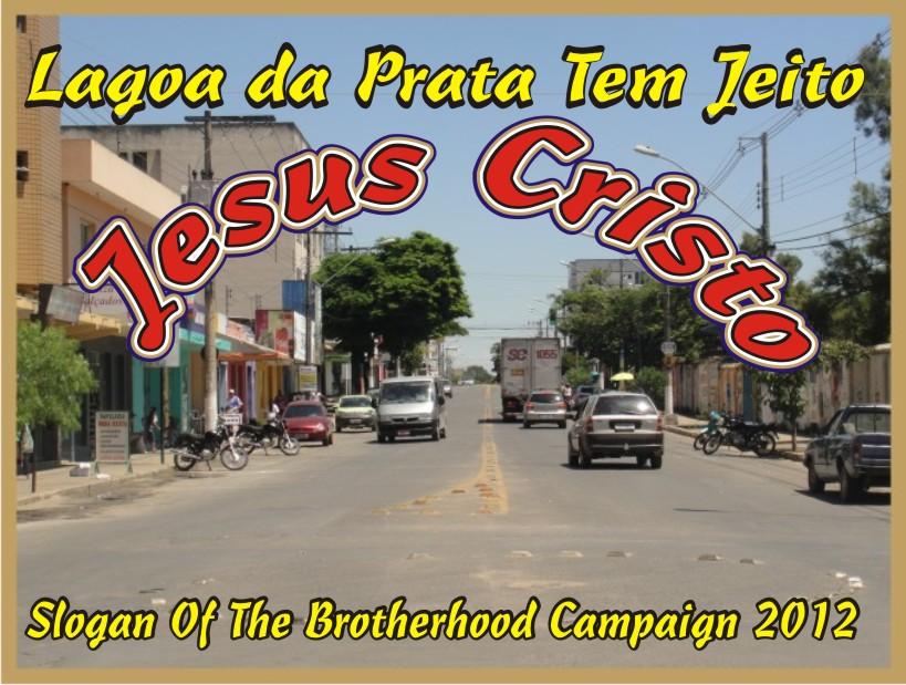 Lagoa da Prata Tem Jeito Jesus Cristo