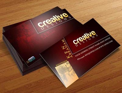 Great looking business cards arts arts good looking business card professional and attractive business cards colourmoves