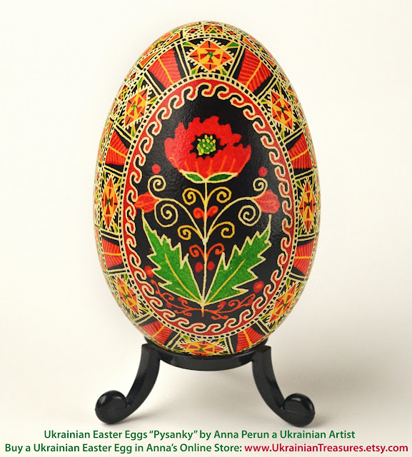 Ukrainian Easter Eggs Pysanky By Anna Perun Ukrainian