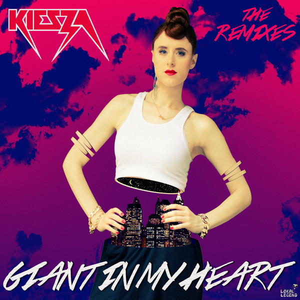 Kiesza - Giant In My Heart (The Remixes) - EP Cover