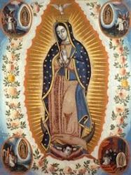 Santa María de Guadalupe, Reina de México...