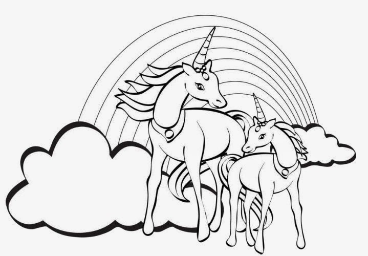 unicorn coloring pages coloring.filminspector.com