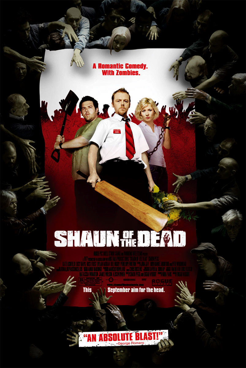 "shaun of the dead ""shaun of the dead"" is the first contribution of the ""blood-and-ice-cream-trilogy"" by the authors simon pegg and edgar wright (who also directs it) a lot of blood flows here, and every time at least one cornetto ice cream is eaten in the film, as in the sequel ""hot fuzz – zwei abgewichste profis."