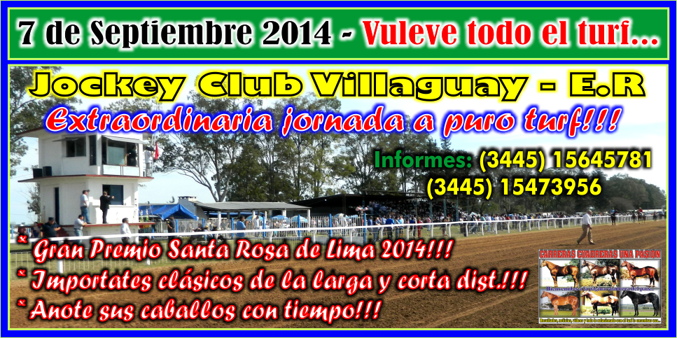 VILLAGUAY - REUNION 07.09.2014