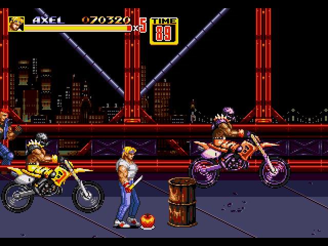 Streets of Rage jogos PC