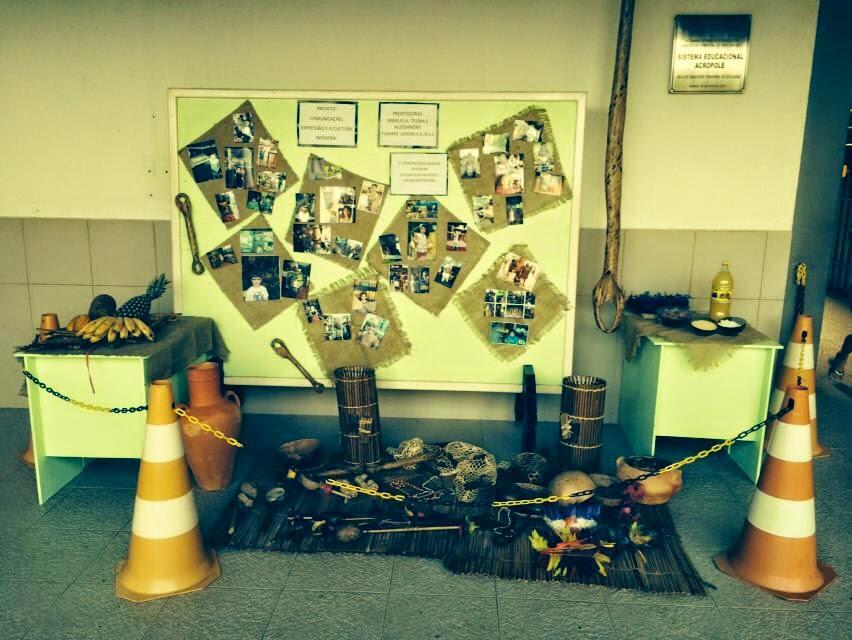 Exposição: comunicação, expressão e cultura indígena.