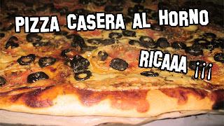Pizza Casera al Horno