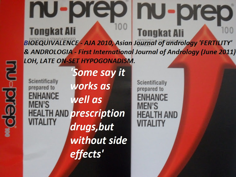 Some say it works as well as prescription drugs,without side effects Nu-Prep 100 US Patent longjack