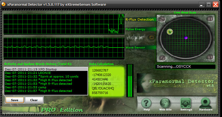 xParanormal Detector v15 Pro Serial Preactivated