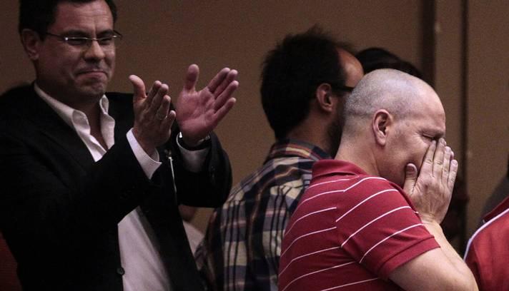 Apoiado pelo governo do presidente José Mujica, o chamado Projeto de Casamento Igualitário já havia sido votado pela Câmara dos Deputados em dezembro de 2012 (Foto: ANDRES STAPFF / REUTERS)