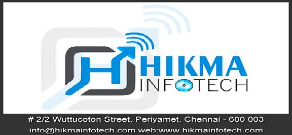 Hikma InfoTech Chennai