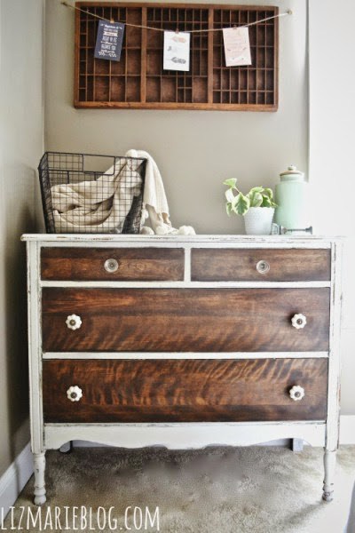 Goodwill tips 7 fresh furniture painting ideas for Painting designs on wood furniture