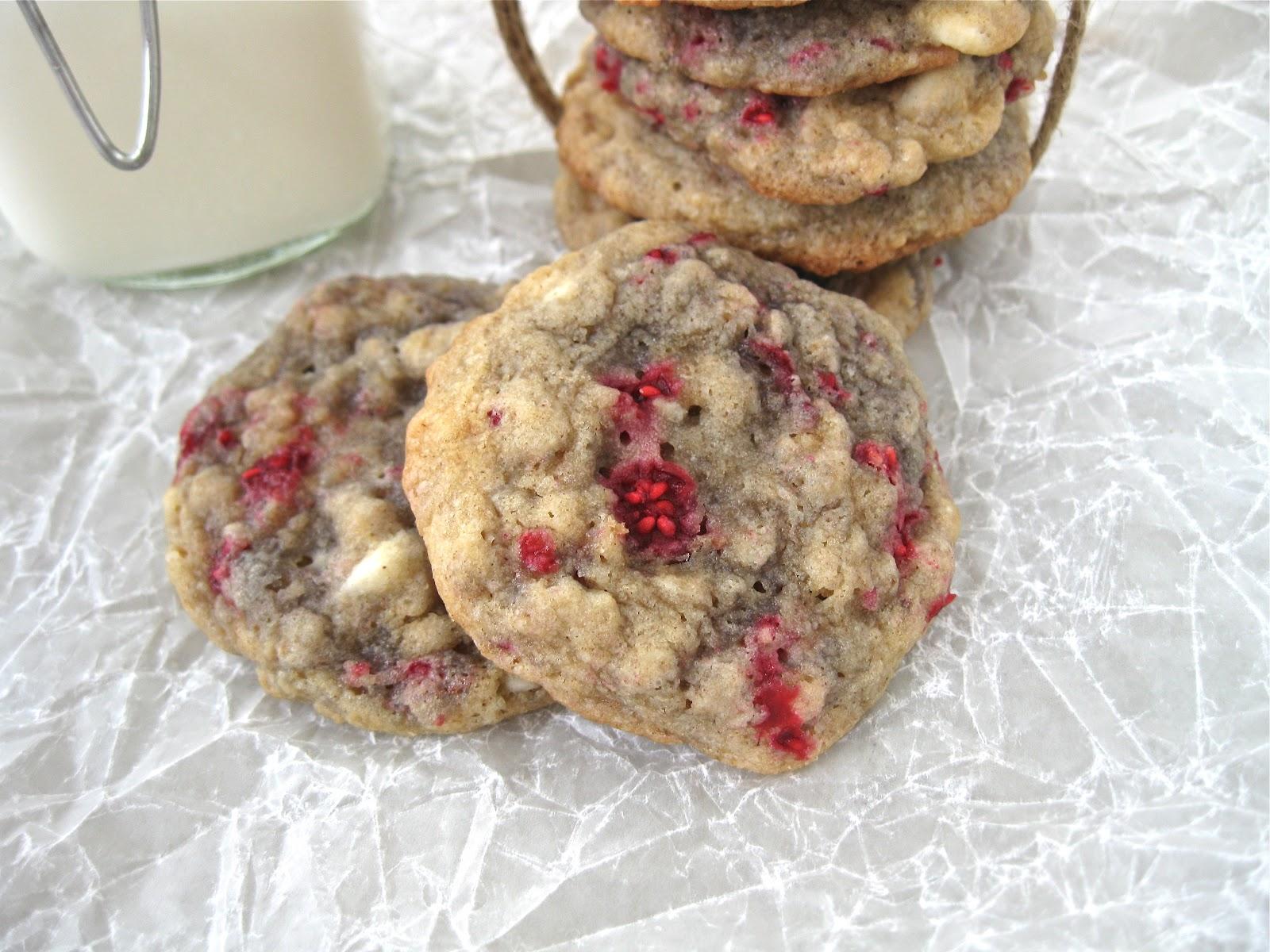 ... , Bake, Sew, Create: White Chocolate Chip Raspberry Oatmeal Cookies