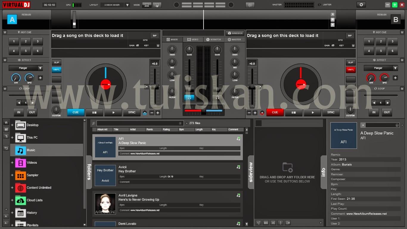 Download Virtual DJ Pro 8.0 Full Aktivasi