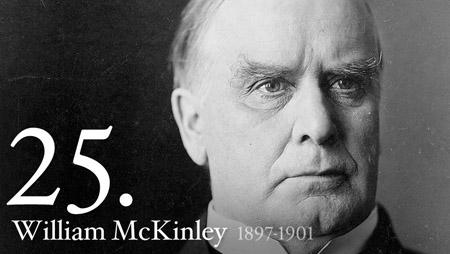 WILLIAM MCKINLEY 1897-1901