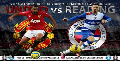 Streaming manchester united vs reading