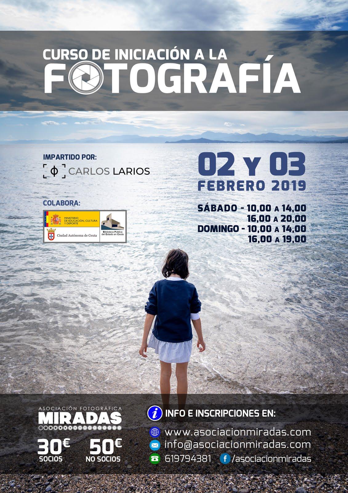 Curso de iniciación a la Fotografía