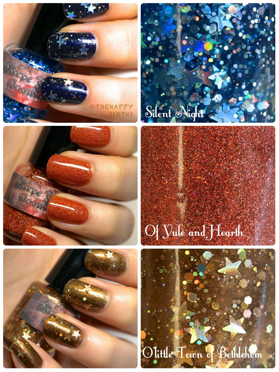 Carpe Noctem Cosmetics Holiday Nail Polish Collection (Part 2 ...