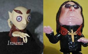 DESTAQUE: Miniaturas em Toy Art Caricatas!