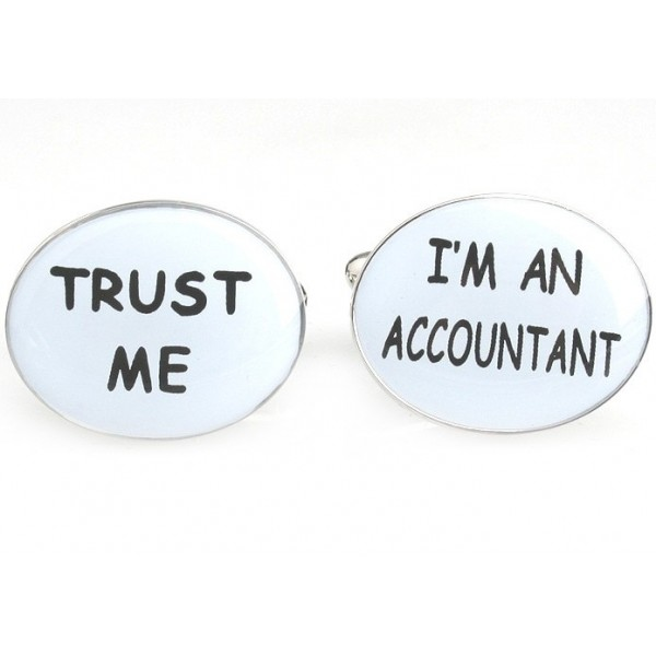 Accountant Cufflinks7