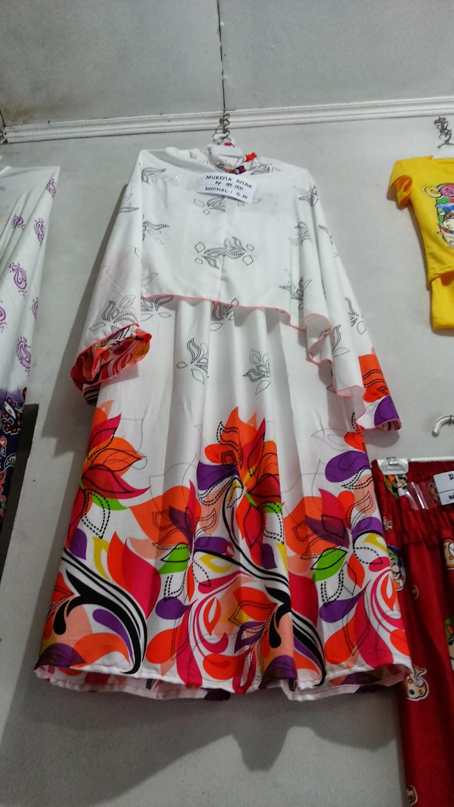 Grosir Mukena Bali untuk anak anak