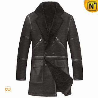 Sheepskin Embossed Coat