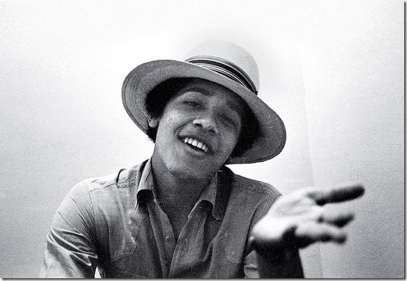 Foto narsis obama saat muda