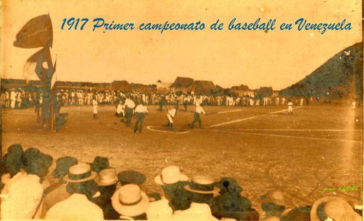 1917 Primer campeonato de baseball en Venezuela