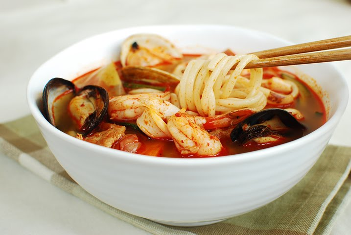 Korean chicken noodle soup - photo#17