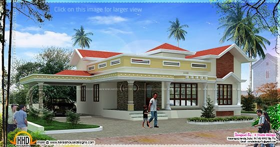 House design 1538 square feet