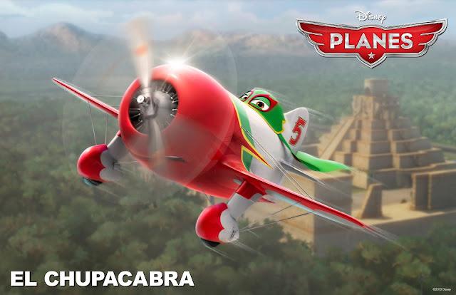 El Chupacabra in Planes