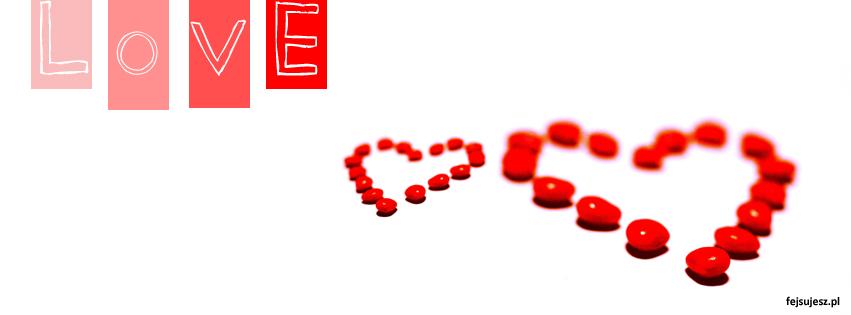 Mi Osne LOVE Dwa Serca Na Walentynki