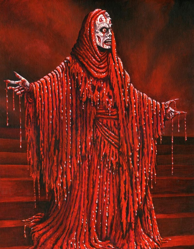 mask of the red death essay American romanticismsymbolism in the red deathedgar allan poe's short story entitled the mask of the red death is an artistic example of vivid symbolism throughout the sinister tale poe writes in a style that appeals to all five senses and captivates.