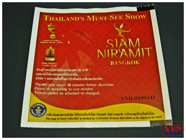 Siam Niramit Ticket