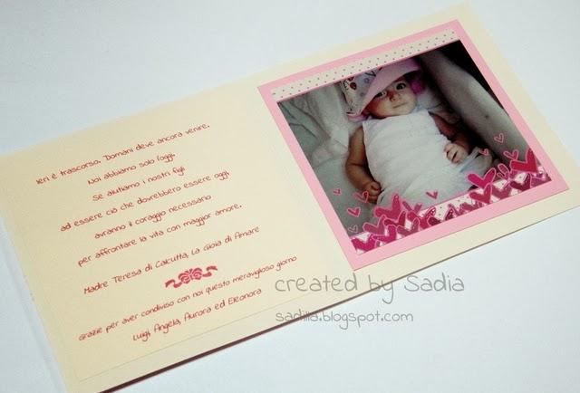 spesso Sadilla's Blog: Un battesimo in rosa AJ34