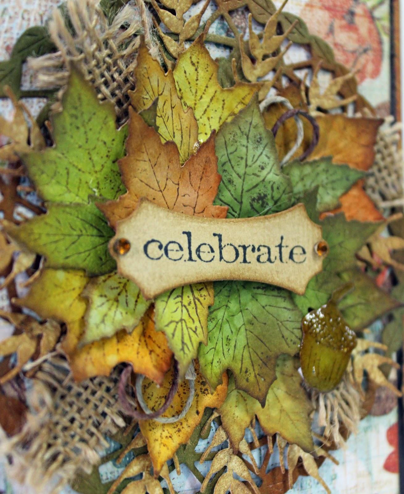 Celebrate Fall Card with Corina Finley