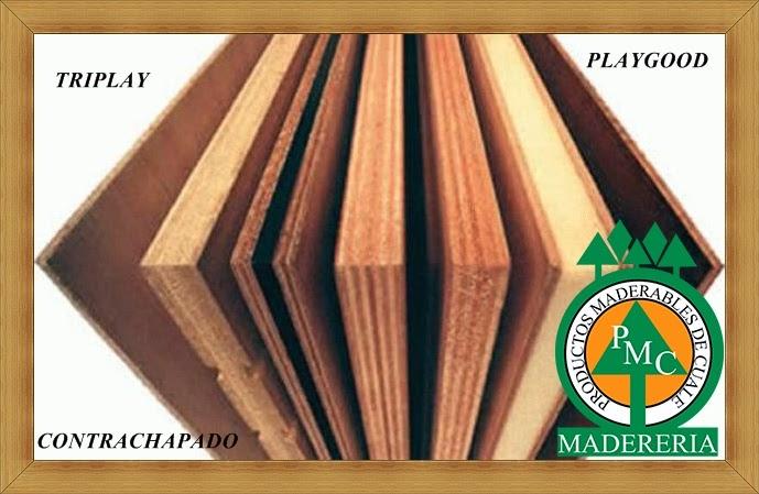 Productos maderables de cuale que es triplay o - Maderas laminadas tipos ...