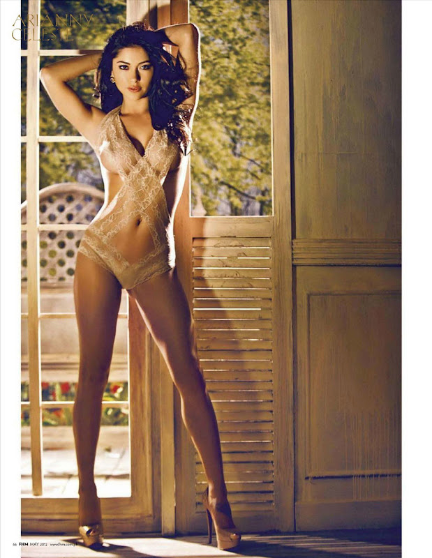 Arianny Celeste strikes a pose in May 2012 FHM Magzine, Philippines Issue