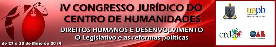 CONGRESSO JURÍDICO DO CENTRO DE HUMANIDADES
