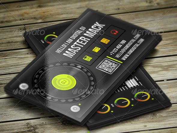 Business card psd templates dj images card design and card template 25 dj business cards free download free premium templates my dj best dj business cards psd reheart Images
