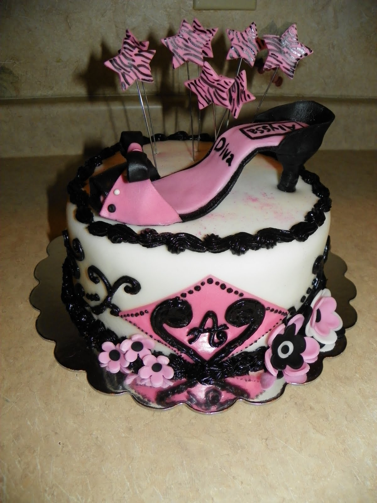 Lady M Birthday Cake