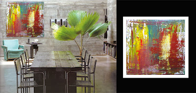 Victor-Raul Garcia's Lago abstract contemporary painting