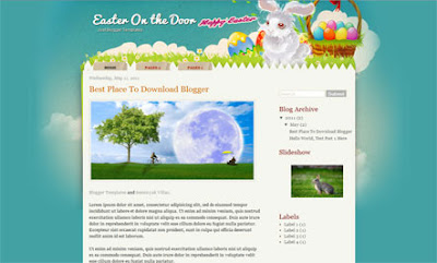Easter On The Door