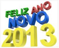 Cartão de Feliz Ano Novo 2012: Modelos Grátis para imprimir
