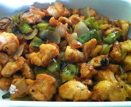 Yummy recetas receta de pollo agridulce - Comidas con pollo faciles ...